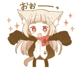 NEKOMIMI girl sticker sticker #9497638