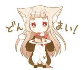 NEKOMIMI girl sticker sticker #9497639