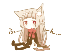 NEKOMIMI girl sticker sticker #9497641