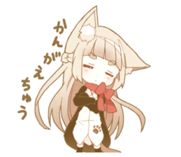 NEKOMIMI girl sticker sticker #9497644