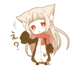 NEKOMIMI girl sticker sticker #9497645