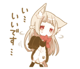 NEKOMIMI girl sticker sticker #9497647
