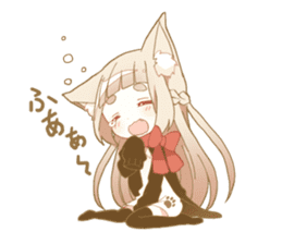 NEKOMIMI girl sticker sticker #9497653