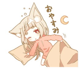 NEKOMIMI girl sticker sticker #9497655