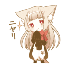 NEKOMIMI girl sticker sticker #9497656