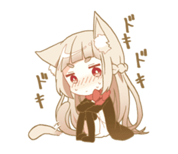 NEKOMIMI girl sticker sticker #9497657