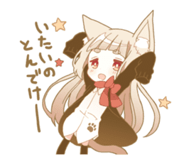 NEKOMIMI girl sticker sticker #9497658