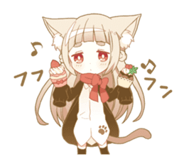 NEKOMIMI girl sticker sticker #9497659