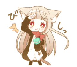 NEKOMIMI girl sticker sticker #9497660