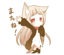 NEKOMIMI girl sticker sticker #9497662