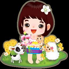 NOKwheed : Happy little Asian child.