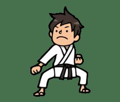 Do your best. karate sticker #9500544