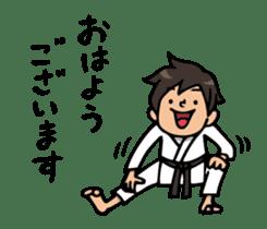 Do your best. karate sticker #9500546