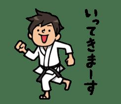 Do your best. karate sticker #9500547