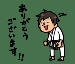 Do your best. karate sticker #9500550