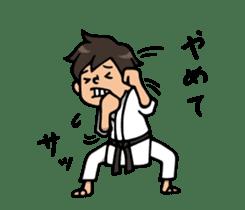 Do your best. karate sticker #9500554