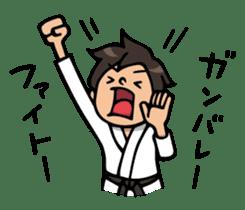 Do your best. karate sticker #9500555
