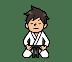 Do your best. karate sticker #9500557
