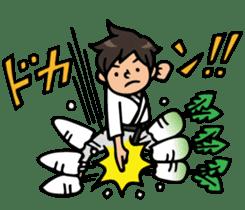 Do your best. karate sticker #9500559