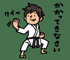Do your best. karate sticker #9500560