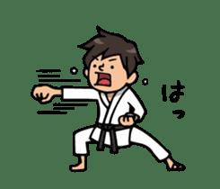 Do your best. karate sticker #9500562