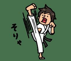 Do your best. karate sticker #9500563