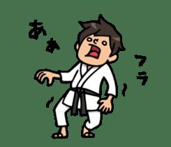 Do your best. karate sticker #9500565