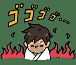 Do your best. karate sticker #9500568