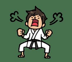 Do your best. karate sticker #9500569
