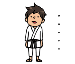 Do your best. karate sticker #9500573