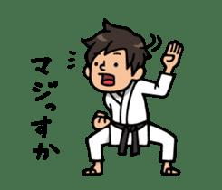 Do your best. karate sticker #9500574