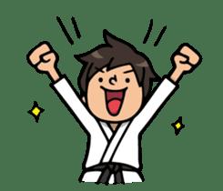 Do your best. karate sticker #9500577