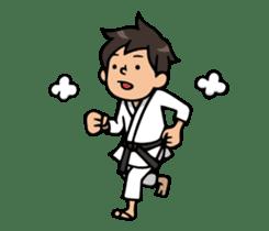 Do your best. karate sticker #9500578