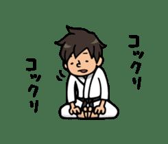 Do your best. karate sticker #9500579