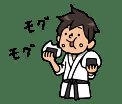 Do your best. karate sticker #9500580