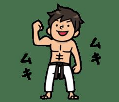 Do your best. karate sticker #9500581