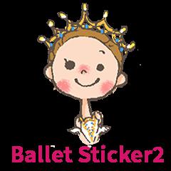 Ballet Sticker 2