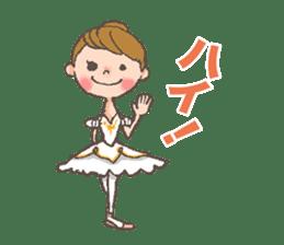 Ballet Sticker 2 sticker #9501828