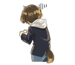 Canine boy EN sticker #9513472