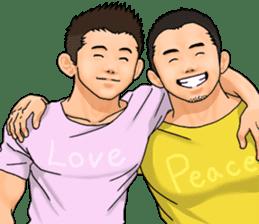 GAY's LOVE VOICES 4 sticker #9520475