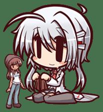 Chitose Shirasawa sticker #9522224