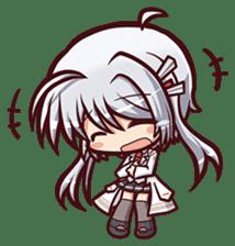 Chitose Shirasawa sticker #9522228