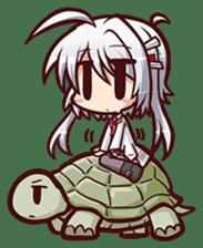 Chitose Shirasawa sticker #9522242