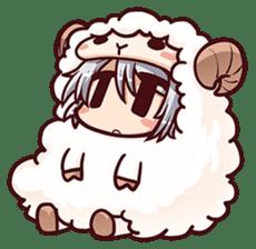 Chitose Shirasawa sticker #9522263