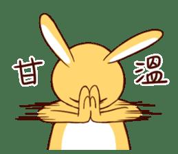 Ugly rabbit by BiBi sticker #9522829