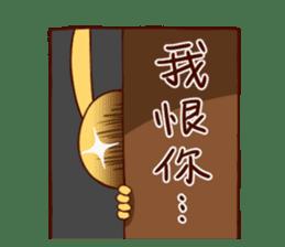 Ugly rabbit by BiBi sticker #9522841