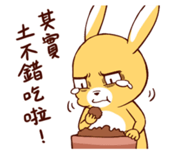 Ugly rabbit by BiBi sticker #9522844