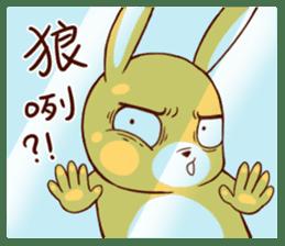 Ugly rabbit by BiBi sticker #9522849