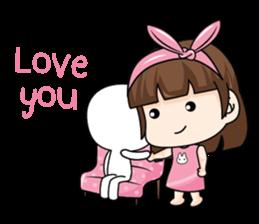 I love you, Sweetie (EN) sticker #9529344