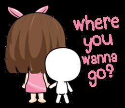 I love you, Sweetie (EN) sticker #9529345